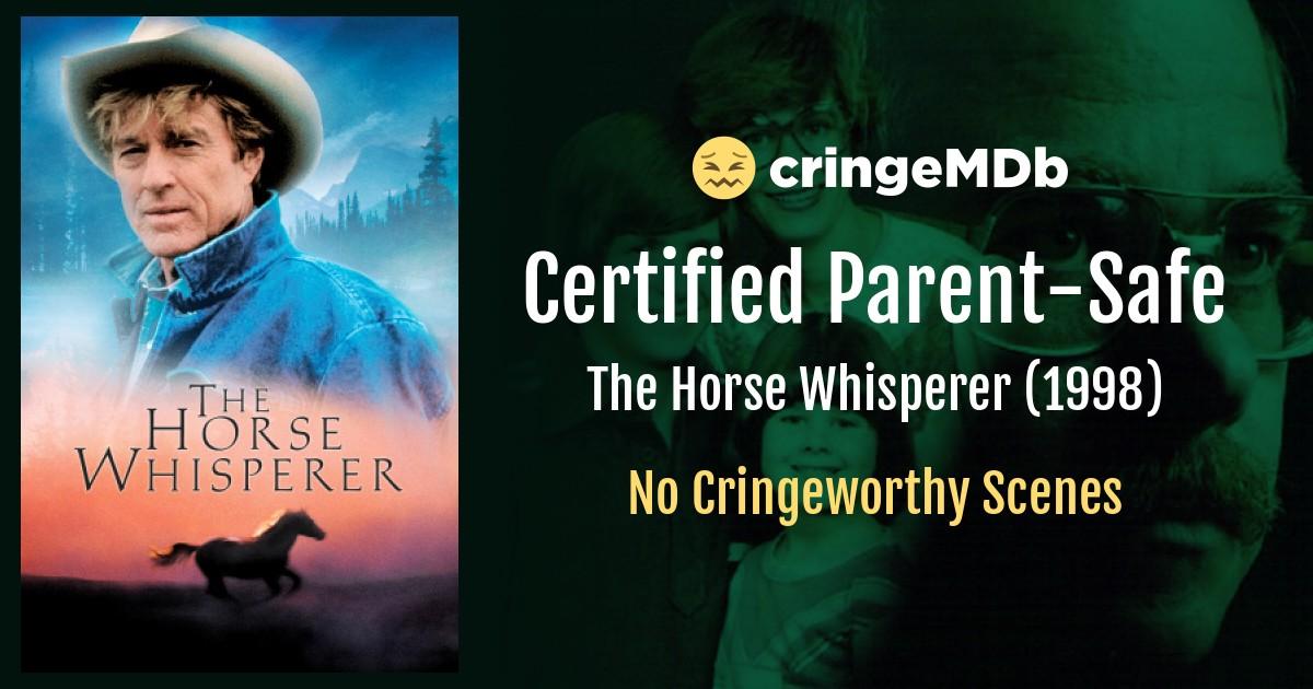 The Horse Whisperer 1998 Sexual Content Cringemdb Com